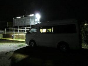 RVパークしまなみ海道大三島の夜_2_181020