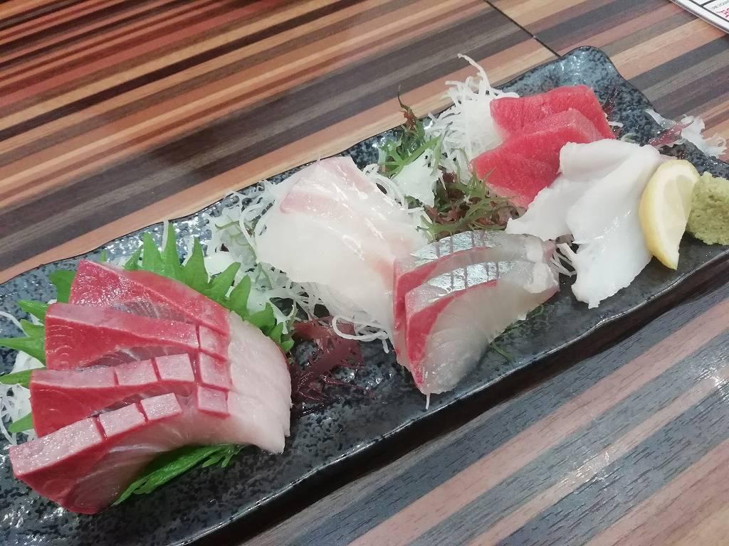 鮮魚刺身盛り二人前_1280円_181028