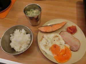 キャンプの朝食セット_181223