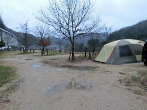 雨の江の川カヌー公園さくぎ_1_181223