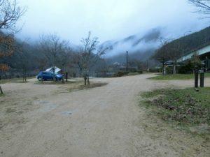 雨の江の川カヌー公園さくぎ_2_181223