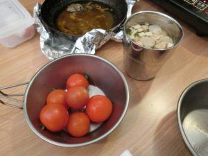 奥出雲トマトと味噌汁_181223