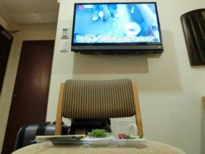 眼の前にはテレビでBGV_181124
