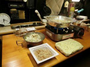 アルミ鍋でちゃんぽん麺_190106