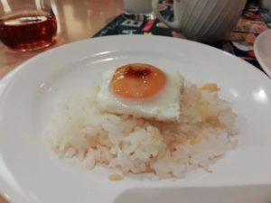 なんちゃって卵かけご飯_181124