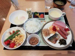 福岡サンパレスホテルの朝食バイキング_181220