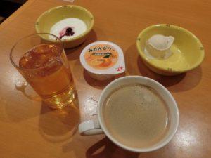 ホテル法華クラブ広島_デザートとコーヒー_190203