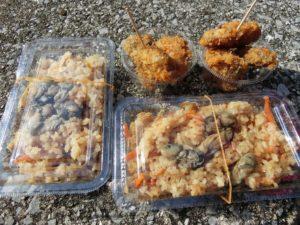 牡蠣飯とカキフライ_190217