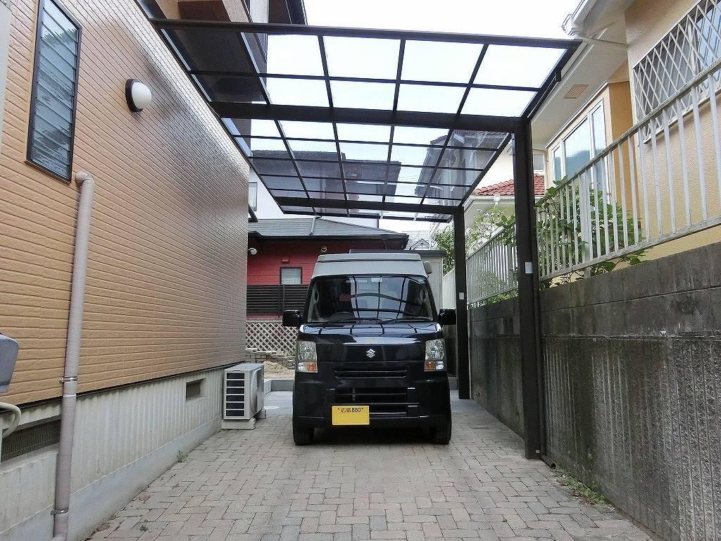 リニューアルした駐車場にKONG_20160426