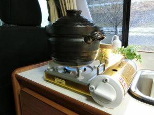 土鍋で炊飯_190317
