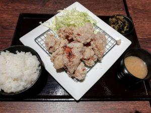 鳥さくのから揚げマウンテン定食_899円_190302