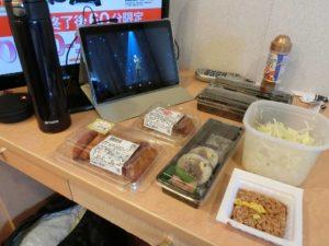 新日本海フェリー_あかしあ_ステートBツインで夕食_180428