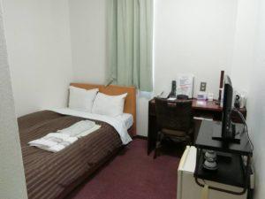 松江アーバンホテルレークインの部屋_190504