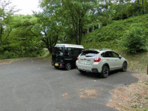 きすき健康の森バンガロー駐車場_190518