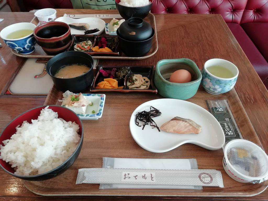 ホテル28広島の朝食_190707