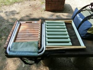 二段ラックと木製フリーボード_1_190803