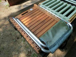 二段ラックと木製フリーボード_2_190803