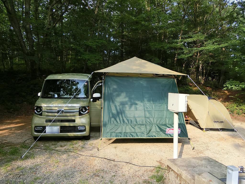 もみのき森林公園にN-VAN_190803