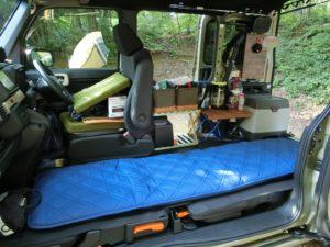 N-VANに車中泊ベッド_1_190803