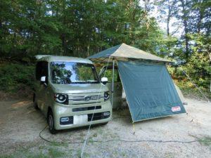 N-VANで車中泊キャンプ_1_190803