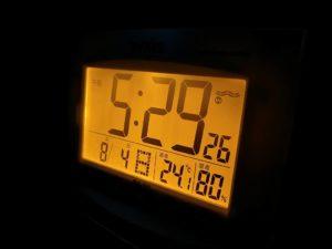 標高約900mのキャンプ場でN-VAN車内温度_190803