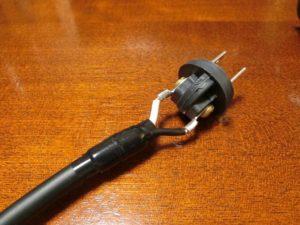 N-VAN外部電源変換ケーブル作製_1_190828