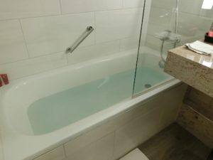 ドイツのホテルの浴室_191015