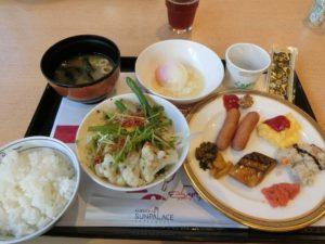 福岡ホテルサンパレスの朝食バイキング_1_200104