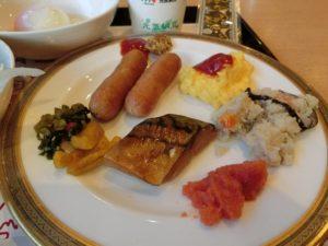 福岡ホテルサンパレスの朝食バイキング_2_200104